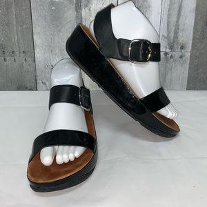 FitFlop Bon Sandals Women's Size 8 Black